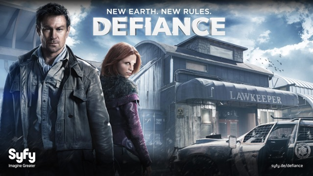 Defiance title card