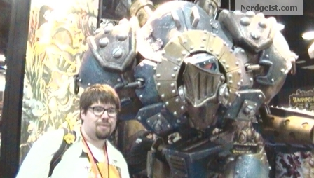 This is from Comic-Con 2012 proof I am a fan