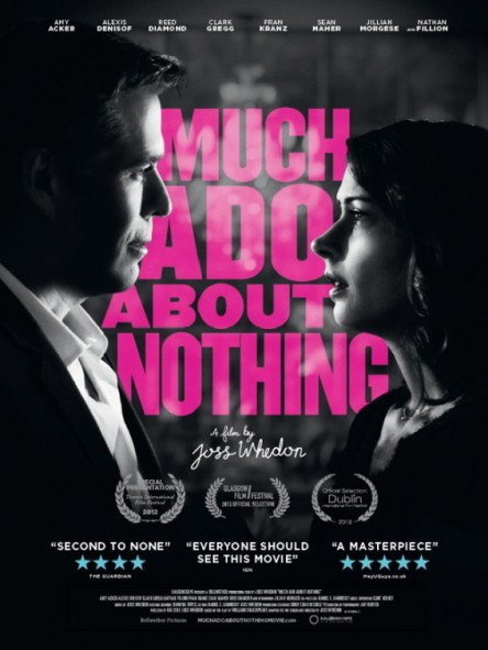 Much Ado About Nothing 2013 movie poster