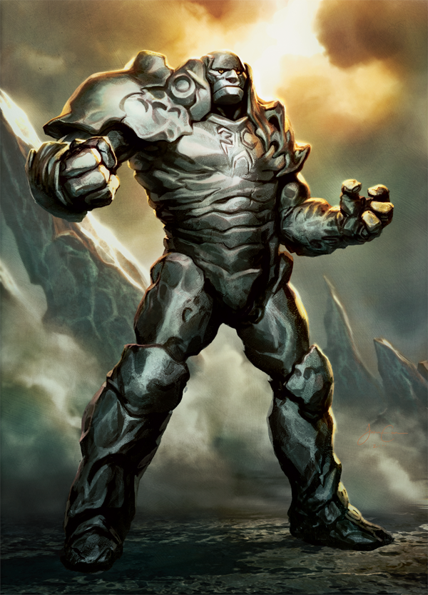 This one is unique, Karn here is a colorless character, so it gives him an unusual spin.