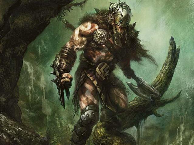 Garruk Wildspeaker, kinda the poster boy for Green