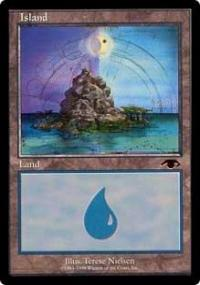 MAGIC-THE-GATHERING-PROMO-CARDS-ISLAND-GURU-LAND-PRMC089