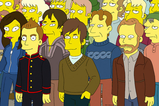 Their now infamous Simpsons appearance