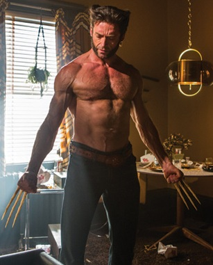Don't worry as with all X-Men films Wolverine gets shirtless and shot at, its the done thing !