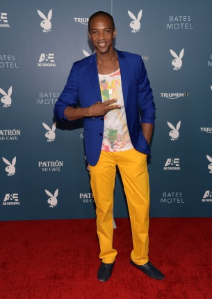 SAN DIEGO, CA - JULY 25:  Actor J. August Richards arrives at the Playboy and A&E Bates Motel Event During Comic-Con Weekend, on July 25, 2014 in San Diego, California.  (Photo by Jason Kempin/Getty Images for Playboy)