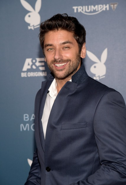 SAN DIEGO, CA - JULY 25:  Actor Mark Ghanime arrives at the Playboy and A&E Bates Motel Event During Comic-Con Weekend, on July 25, 2014 in San Diego, California.  (Photo by Jason Kempin/Getty Images for Playboy)