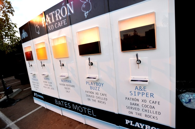 "Playboy And A&E's ""Bates Motel"" Event During Comic-Con Weekend -  Inside"
