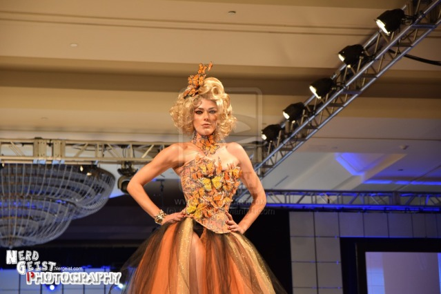 Hunger Games (Effie Trinket) inspired dress by Lauren Bregman