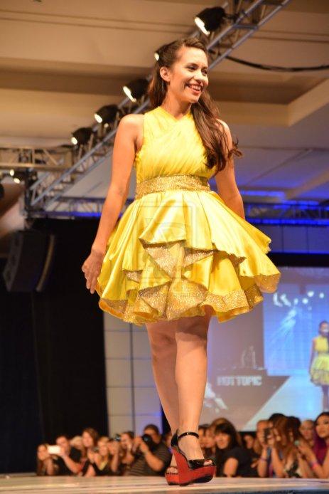 Pikachu inspired dress by Sam Skyler
