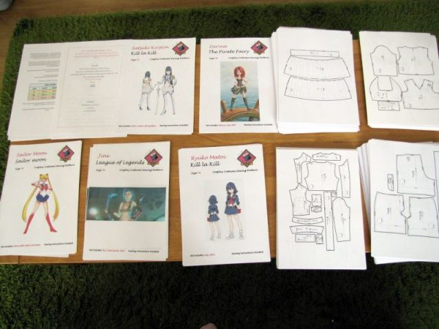 Photo by Anathiell. A look at the cosplay sewing patterns that include all the details you need to make your sewing life easier.  The cosplay sewing patterns measurements available include small, medium and large.