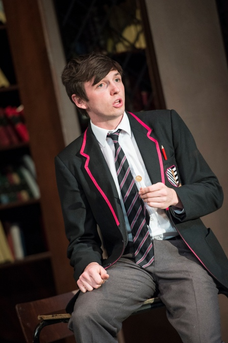Rhys Dunlop as William a scene from Punk Rock at the Lyric Theatre until 6 September.  Lyrictheatre.co.uk
