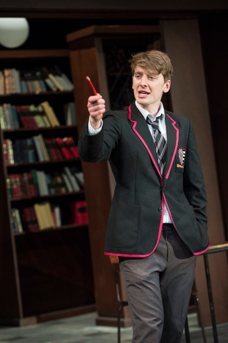 Ian Toner as Bennett in a scene from Punk Rock at the Lyric Theatre until 6 September.  Lyrictheatre.co.uk