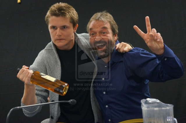 eugene_simon_and_ian_beattie_at_titancon_2014_by_nerdgeist-d7z1j7w