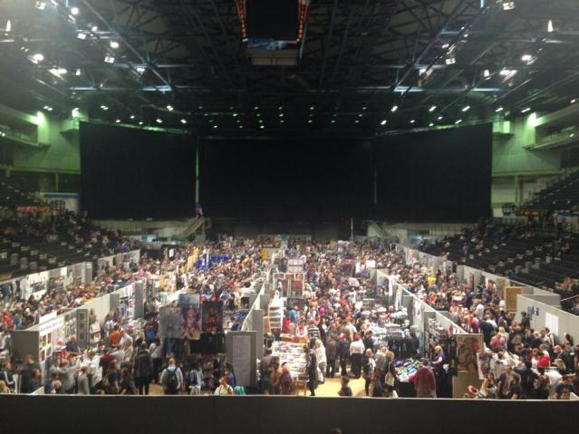 This will give you an idea of what the Belfast Film and Comic Con will look like.