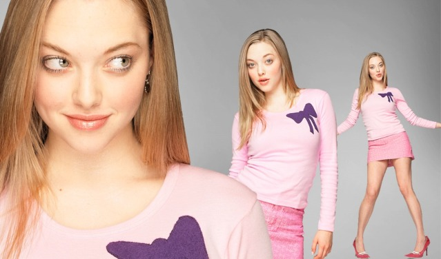Karen Smith (Amanda Seyfried) from Mean Girls