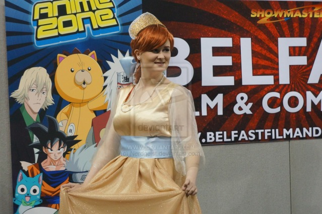 Anastasia cosplay Belfast Film and Comic Con 2014