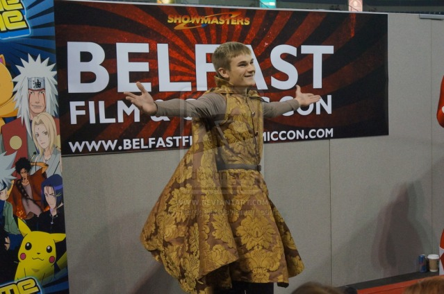 Joffrey Cosplay at Belfast Film and Comic Con 2014