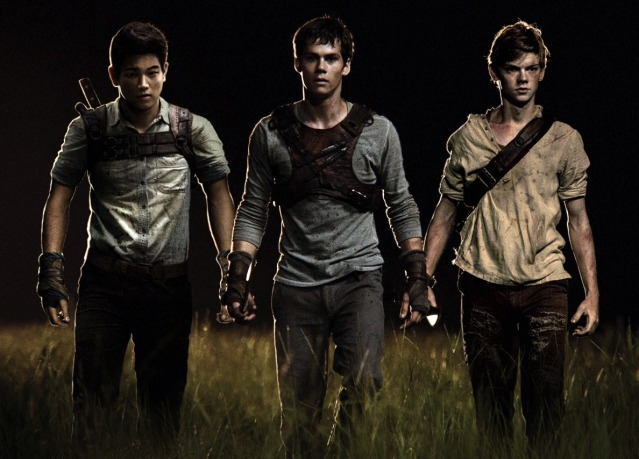 Minho, Thomas and Newt.