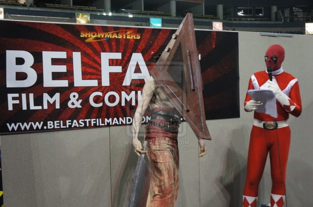 Pyramid Head at Belfast Film and Comic Con 2014