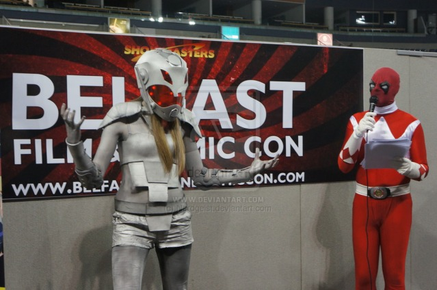 Ultron Cosplay at Belfast Film and Comic Con 2014