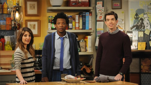 Nasim Pedrad, Seaton Smith & John Mulaney