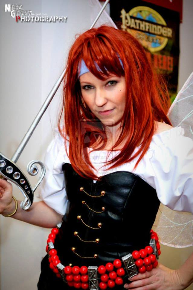 Anathiell as Zarina from 'Tinkerbell and the Pirate Fairy