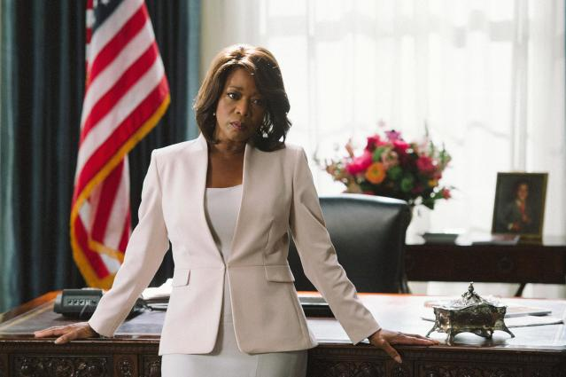 Alfre Woodard as the President