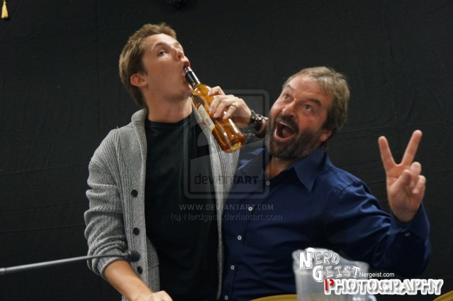 eugene_simon_and_ian_beattie_at_titancon_2014_by_nerdgeist-d85kcjk