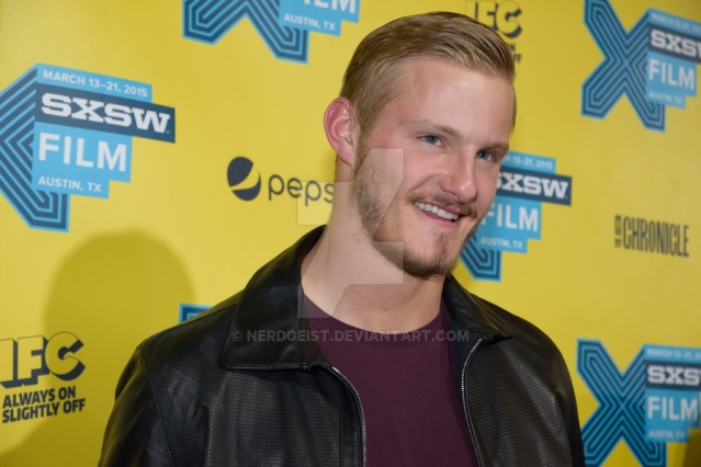 Alexander Ludwig at the world premiere for The Final Girls at SXSW 2015 Film Festival on Friday 13th March.