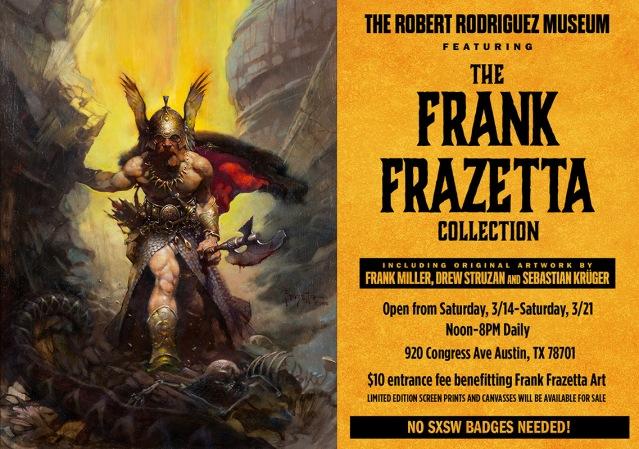 Frank-Frazetta-Museum-Postcard