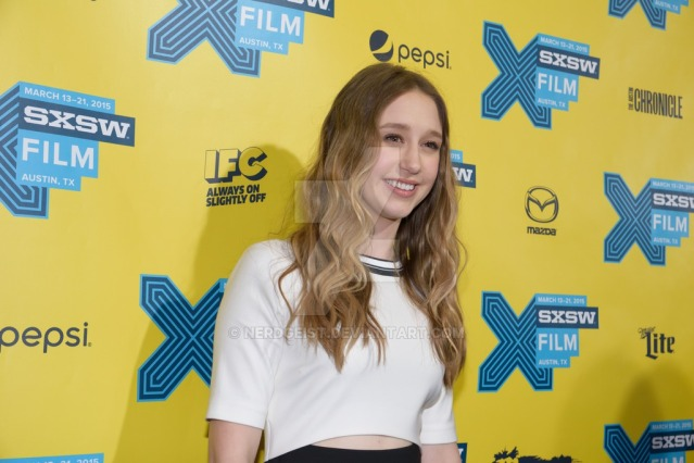 Taissa Farmiga at the world premiere for The Final Girls at SXSW 2015 Film Festival on Friday 13th March.
