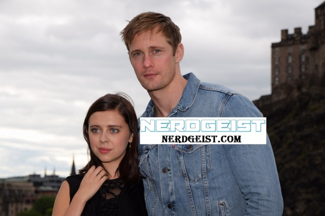 Alexander and Bel photocall for The Diary of a Teenage Girl at Edinburgh International Film Festival 2015. Photo by Jenny Tang for Nerdgeist.com