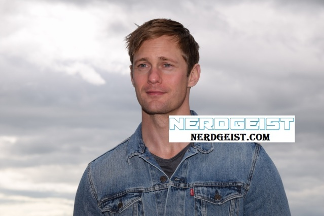 Alexander Skarsgard at photocall for The Diary of a Teenage Girl at Edinburgh International Film Festival 2015. Photo by Jenny Tang for Nerdgeist.com