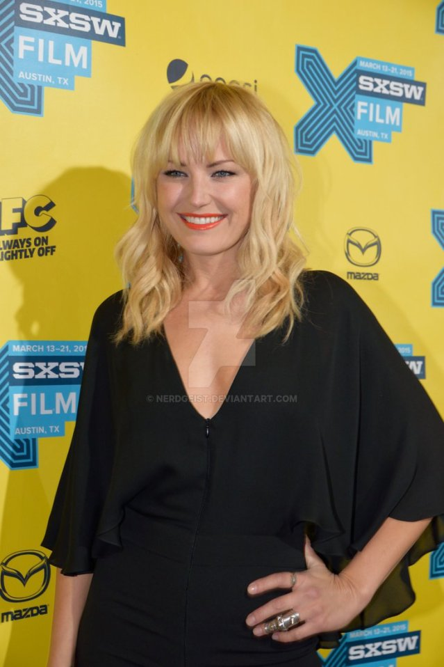 Malin Akerman at The Final Girls world premiere at SXSW 2015 Film Festival on Friday 13th March.