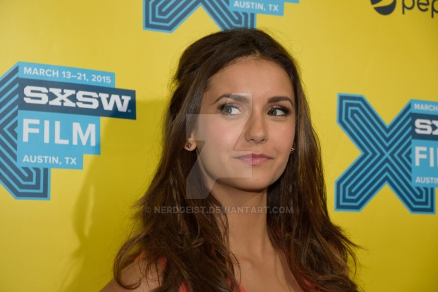 Nina Dobrev at The Final Girls world premiere at SXSW 2015 Film Festival on Friday 13th March.