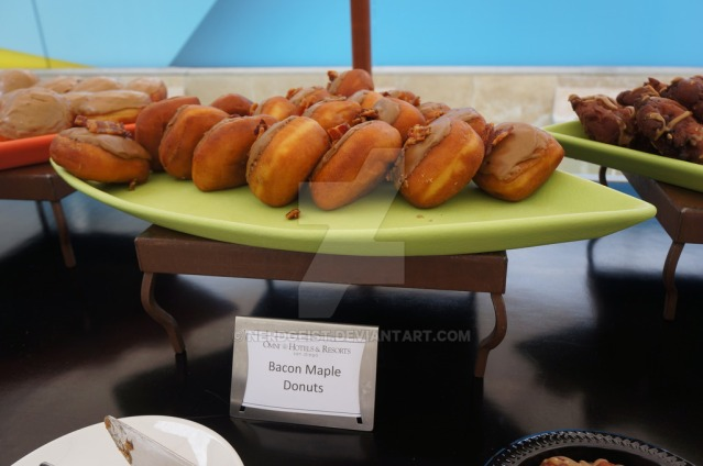 bacon_maple_donuts_at_wired_cafe_during_sdcc_2015_by_nerdgeist-d9294k3