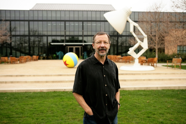 Ed Catmull is photographed on January 15, 2010 at Pixar Animation Studios in Emeryville, Calif. (Photo by Deborah Coleman / Pixar)