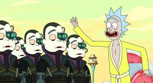 Patton Oswald as this parody of the Borg