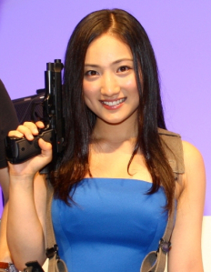 Saaya Irie in Resident Evil cosplay at a separate event