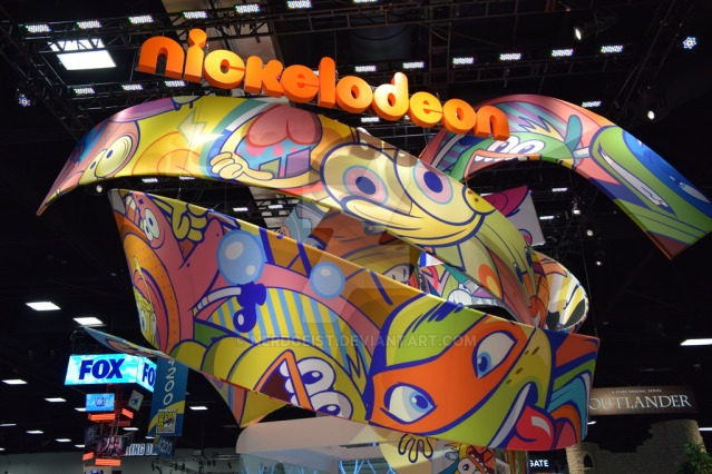 nickelodeon_booth_at_san_diego_comic_con_2014_by_nerdgeist-d7vt72k