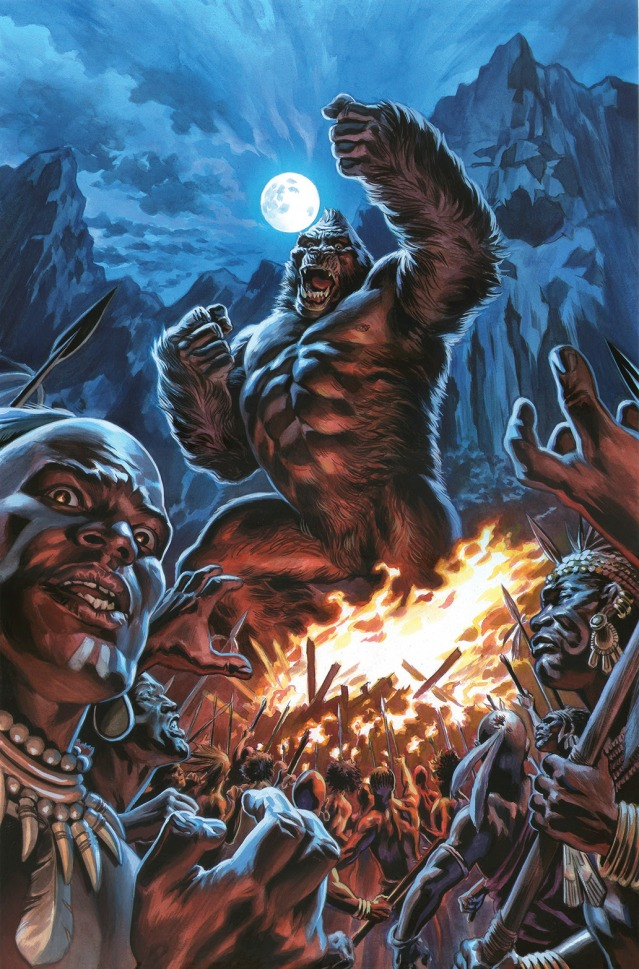 Kong of Skull Island #1 Main Cover by Felipe Massafera