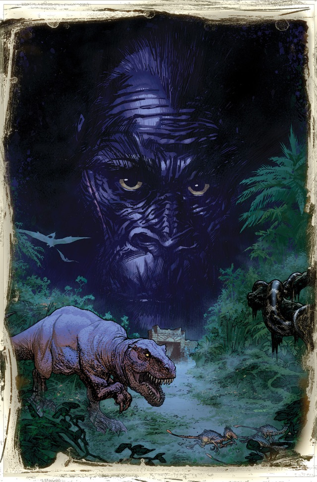Kong of Skull Island #1 Auction Cover 1 by Ryan Sook