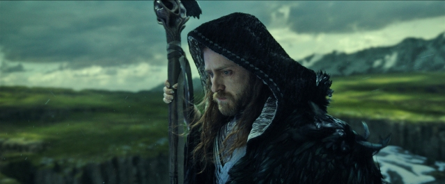 "Magical guardian Medivh (BEN FOSTER) must protect Azeroth at all costs in Legendary Pictures and Universal Pictures' ""Warcraft,"" an epic adventure of world-colliding conflict based on Blizzard Entertainment's global phenomenon."