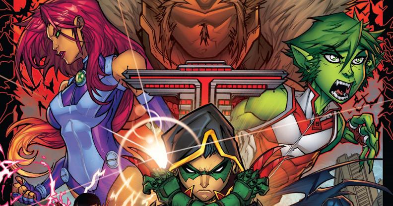 Teen titans comic book congratulate, simply