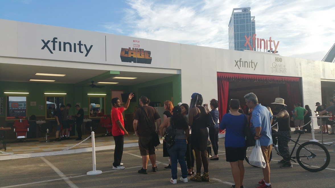 Xfinity Tv Diner Allows Fans To Feast On Their Favorite Shows At San