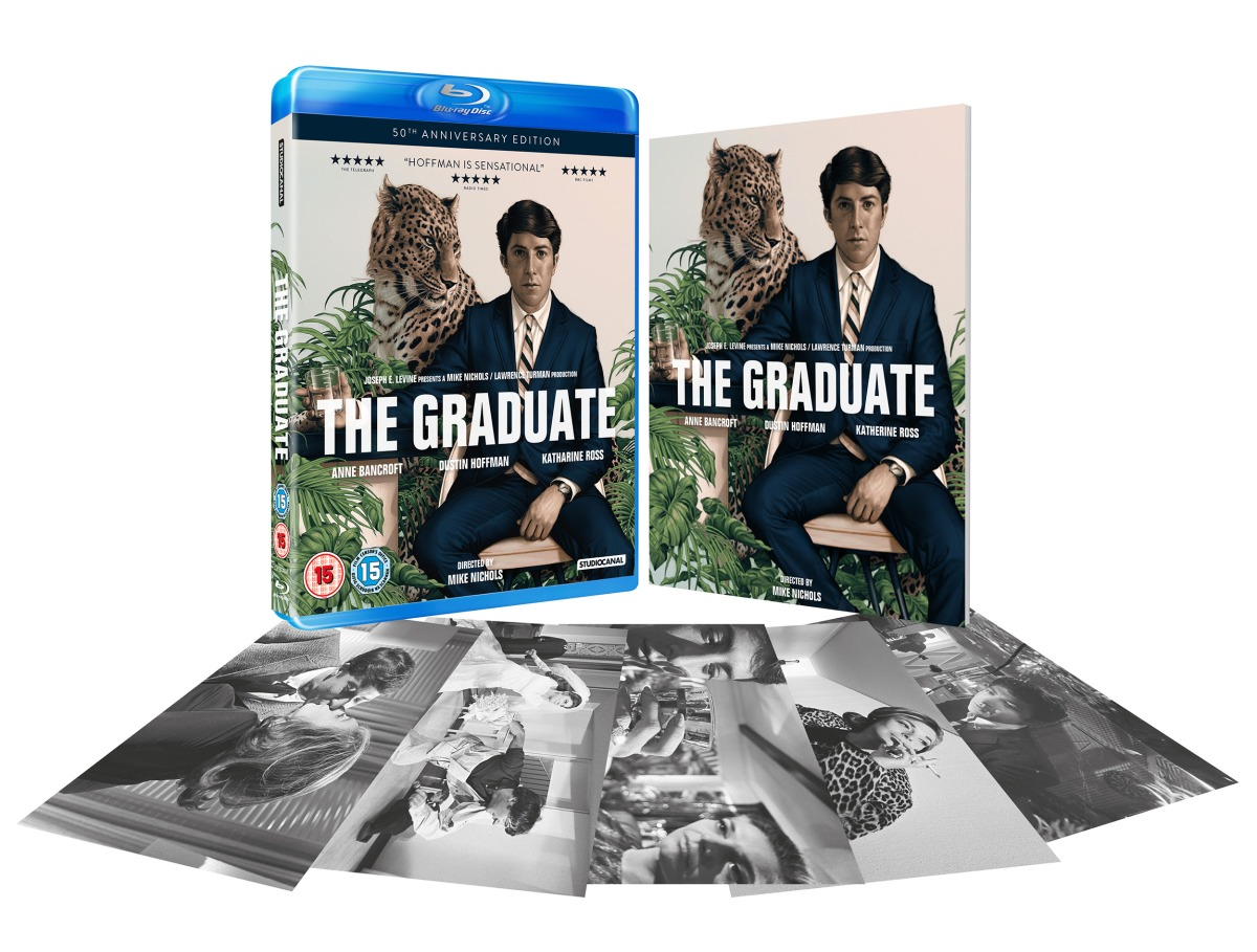 The Graduate celebrates its 50th anniversary this year with a special edition DVD & Blu-Ray