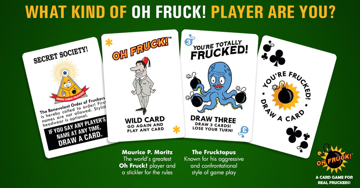 Oh Fruck! A Frucking Great Card Game | NERDGEIST