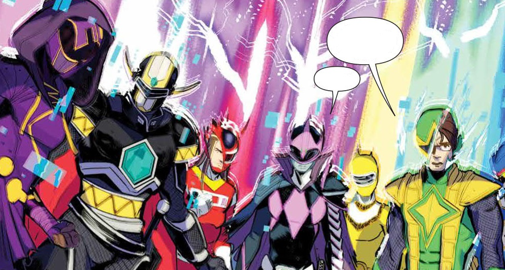 MIGHTY MORPHIN POWER RANGERS #34 | NERDGEIST